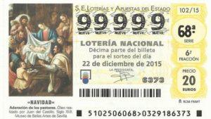 Los hiszpańskiej Loterii Świątecznej