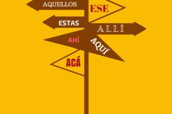 Este, ese, aquel, czyli hiszpańska czasoprzestrzeń