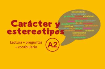 Carácter y estereotipos – A2