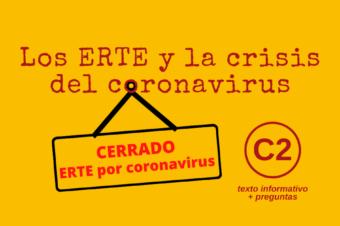 Los ERTE y la crisis del coronavirus – C2